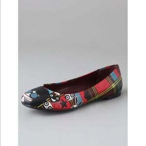 Marc by Marc Jacobs Miss Marc plaid ballet flats